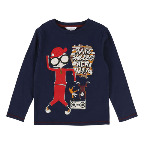 Boys DJ Mister Marc Long-Sleeve Tee