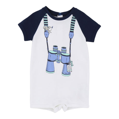 Baby Trompe L'Oeil Front Overalls