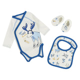 Baby Boys Moose Illustrated Essentials Set