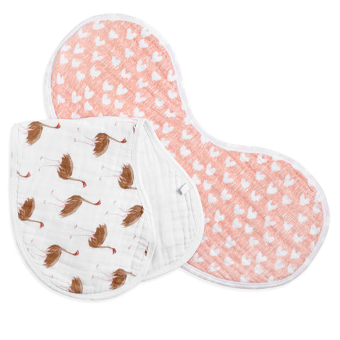 2-Pack Burpy Bibs - Flock Together