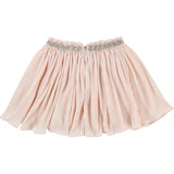 Girls Pleated Skirt with Beading Around Waist