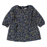 Baby Long Sleeve Viscose Twill Floral Dress