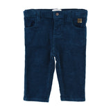 Baby Corduroy Pants with Adjustable Pants