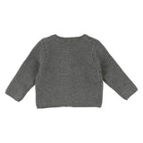 Baby Grey Knit Cardigan