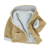 Baby Boys Reversible Sherpa Jacket