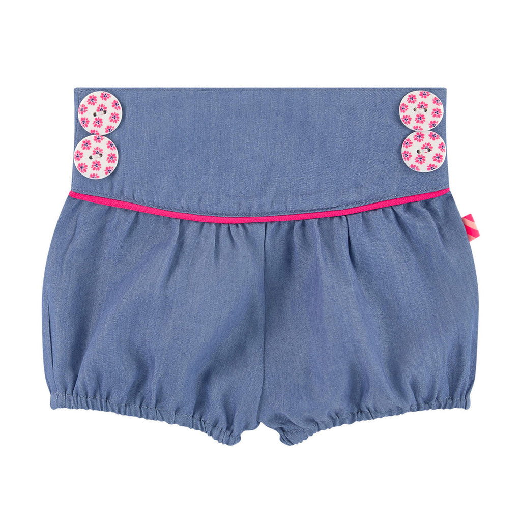 Baby Girls Tencel Shorts