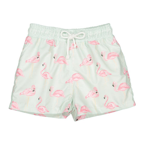 Flamingo Swim Trunks