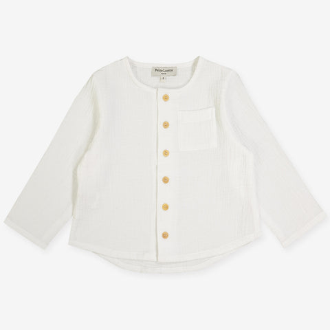 Gaston Shirt - Milk White