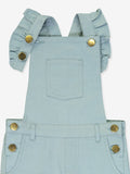 Girls Georgette Overall - Celadon Green