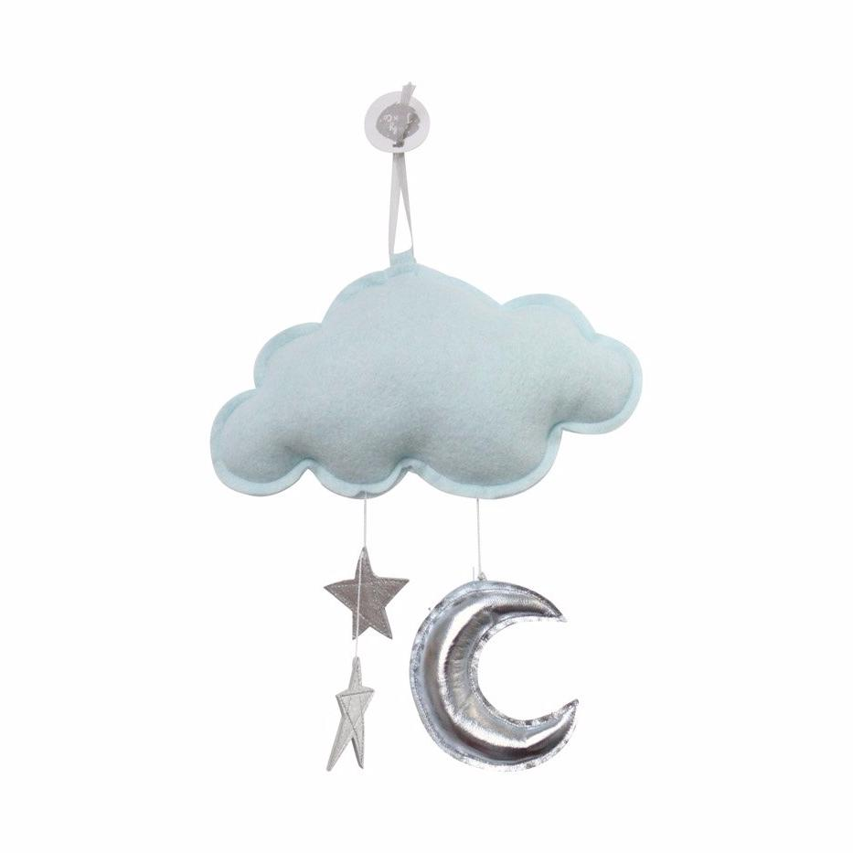 Luxe Wall Hung Star Cloud Mobile