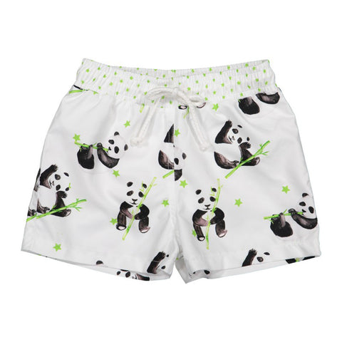 Panda Swim Trunks