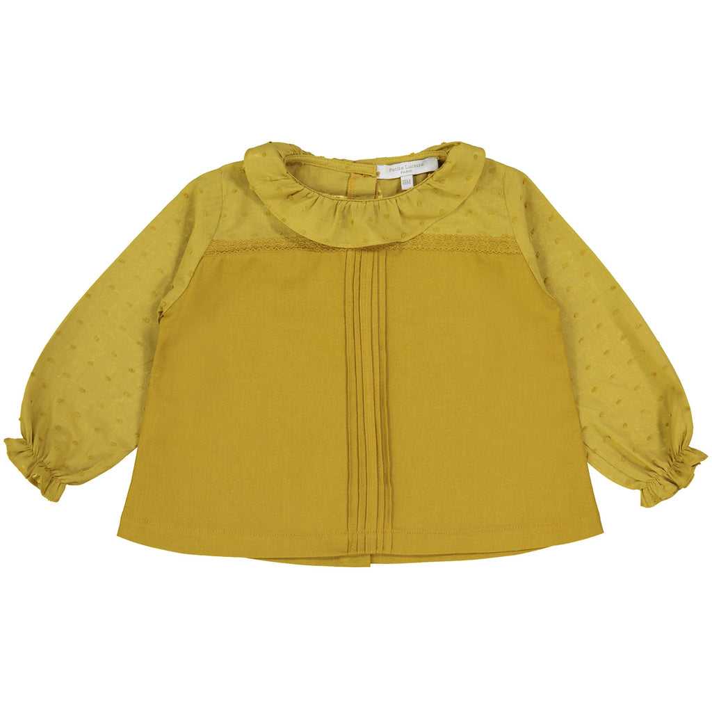 Girls Suzon Blouse - Curry