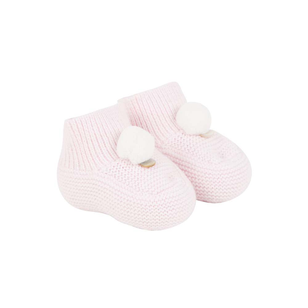 Sweet Pale Pink Bootees