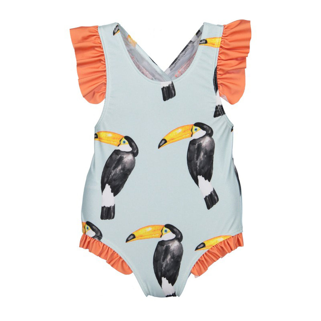 Girls Tucan Swimsuit