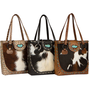 The Horn Peak Leather Tote Bag Collection