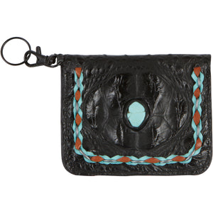 Leather and Turquoise Wallets