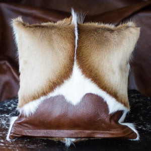 Mongolian Sheep Skin and Cowhide Pillow