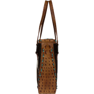 The Horn Peak III Leather Tote Bag