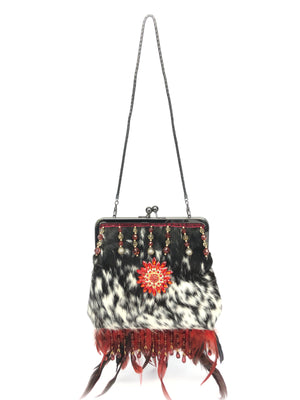 Evening Bag - The Feather Peak III Salt n Pepper