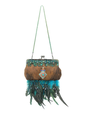 Special Occasion Bag - The Feather Peak IV longhorn