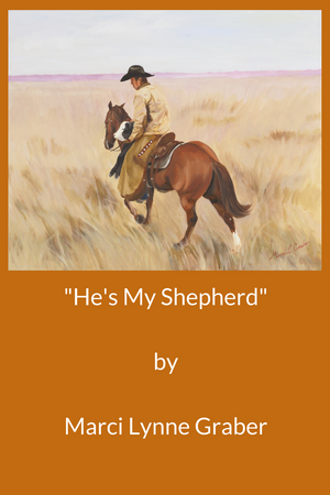 Western Art Oil Painting Hes My Shepherd