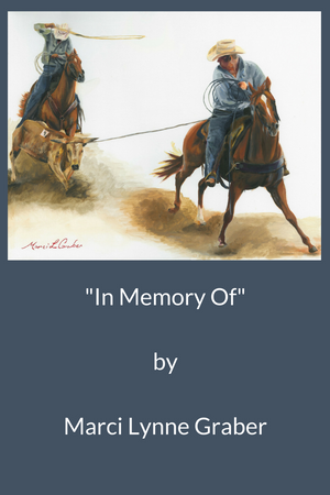 Western Art Oil Painting In Memory Of