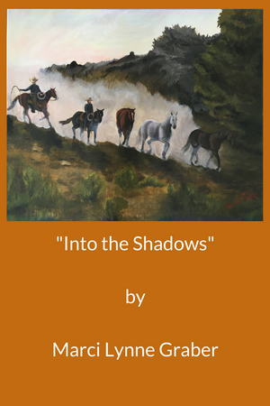 Western Art Oil Painting Into The Shadows