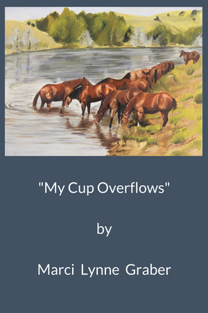 Western Art Oil Painting My Cup Overflows