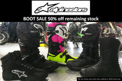 Alpinestars SALE 50% OFF - cash and run!
