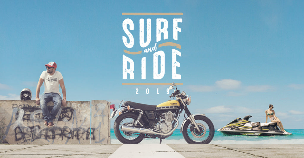 YAMAHA SURF N RIDE!