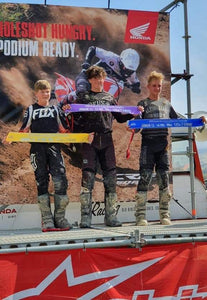 Clean Sweep for Kyan Loomans at Woodville