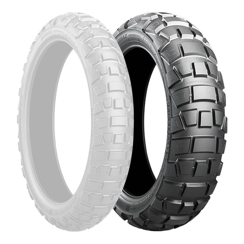BRIDGESTONE 410x18 ADVENTURECROSS AX41 TL REAR 59P