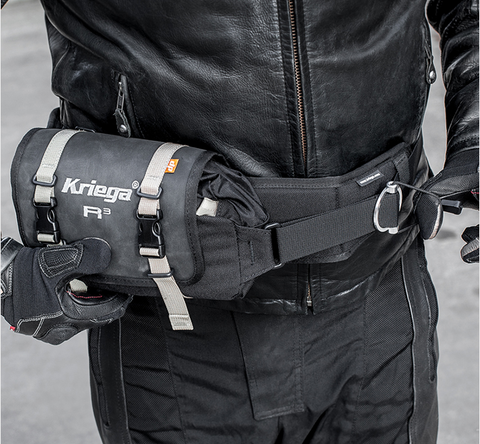 Kriega roll top waist bag 100% waterproof 3 litre