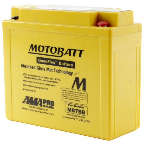 MB7BB MOTOBATT QUADFLEX BATTERY (6PCS/CTN)