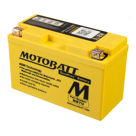 MB7U MOTOBATT QUADFLEX BATTERY (8PCS/CTN)