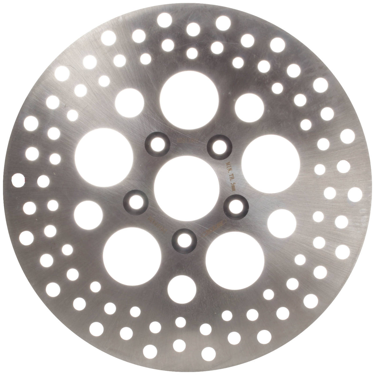 MTX BRAKE ROTOR SOLID TYPE - tapered bolt holes, countersunk