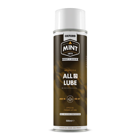 OXFORD MINT ALL WEATHER CHAIN LUBE w/ PTFE 500ml
