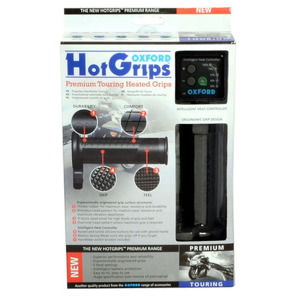 Oxford Hot Grips Premium Touring With V8 Switch