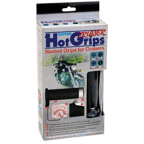 Oxford Hot Grips For Cruisers (1 Inch) Hotgrip