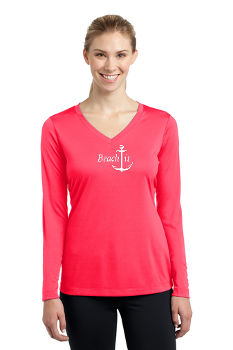 Ladies Long Sleeve Performance