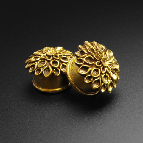 Brass Flower Double Flare Plug