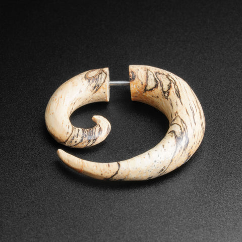 Tamarind Wood Fake Gauge Spiral