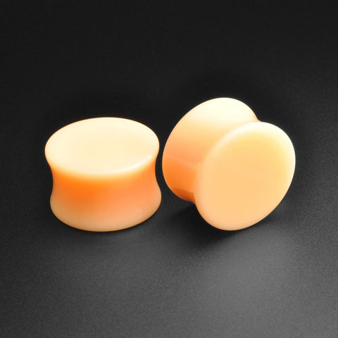Light Flesh Tone Acrylic Double Flare Hider Plug