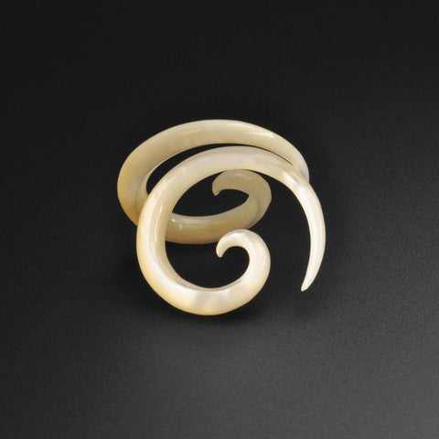 Mother Of Pearl Spiral