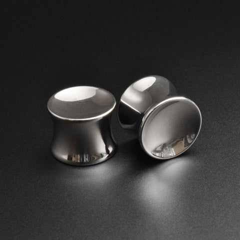 Surgical Steel Double Flare Concave Plug