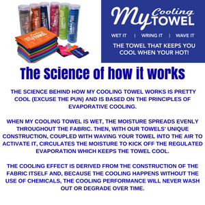 The Science of how MY COOLING TOWEL works