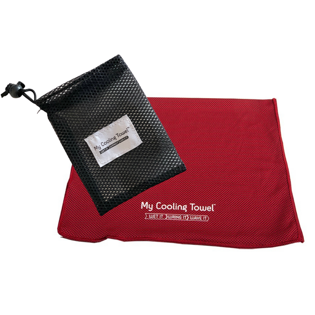 My Cooling Towel - The New Mesh Pouch - My Cooling Towel™