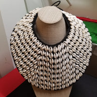 Cowrie Shell Statement necklace