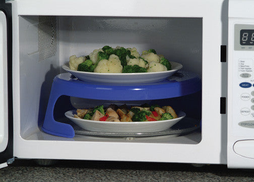 Dual Microwave Plate Holder