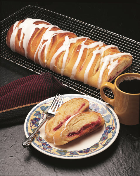 Cherry Supreme French Braid Pastry